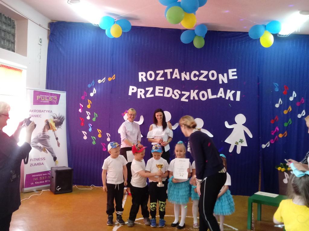 Roztańczone Przedszkolaki w Kąkowej Woli