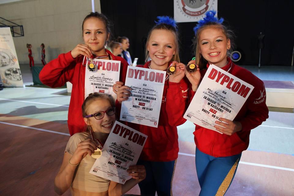 Taneczny weekend w Brodnicy – mamy medale!