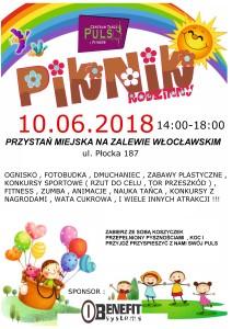 Sportowo-taneczny Piknik Rodzinny!