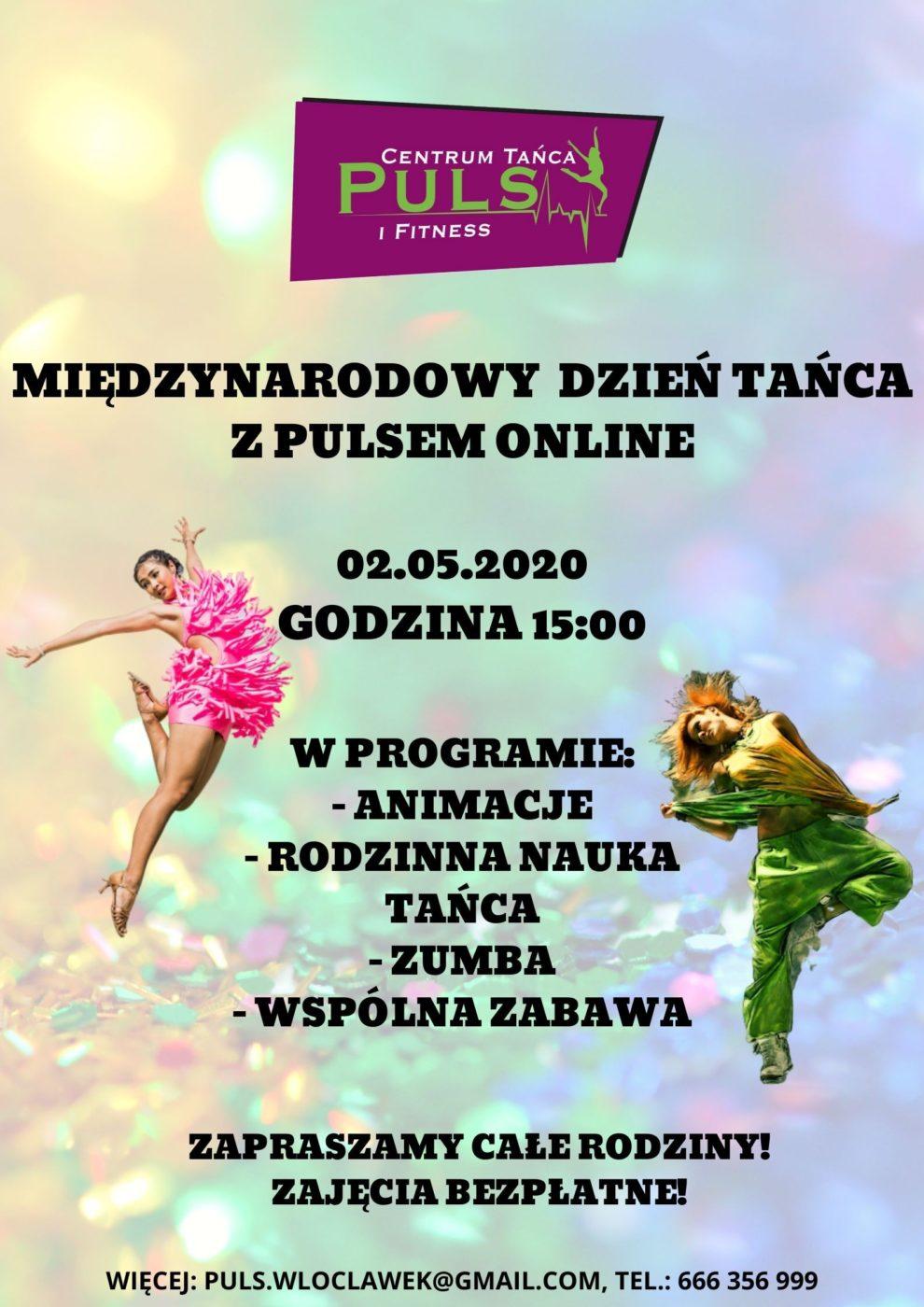 Międzynarodowy Dzień Tańca z Pulsem online
