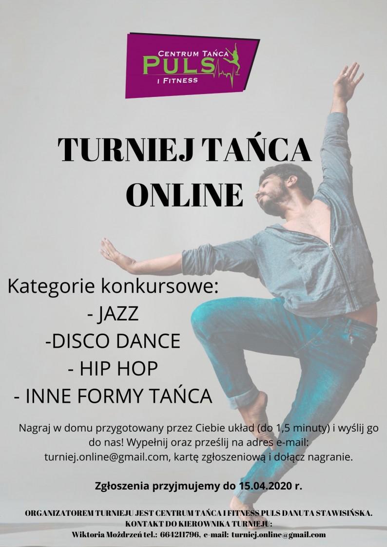 Turniej tańca online