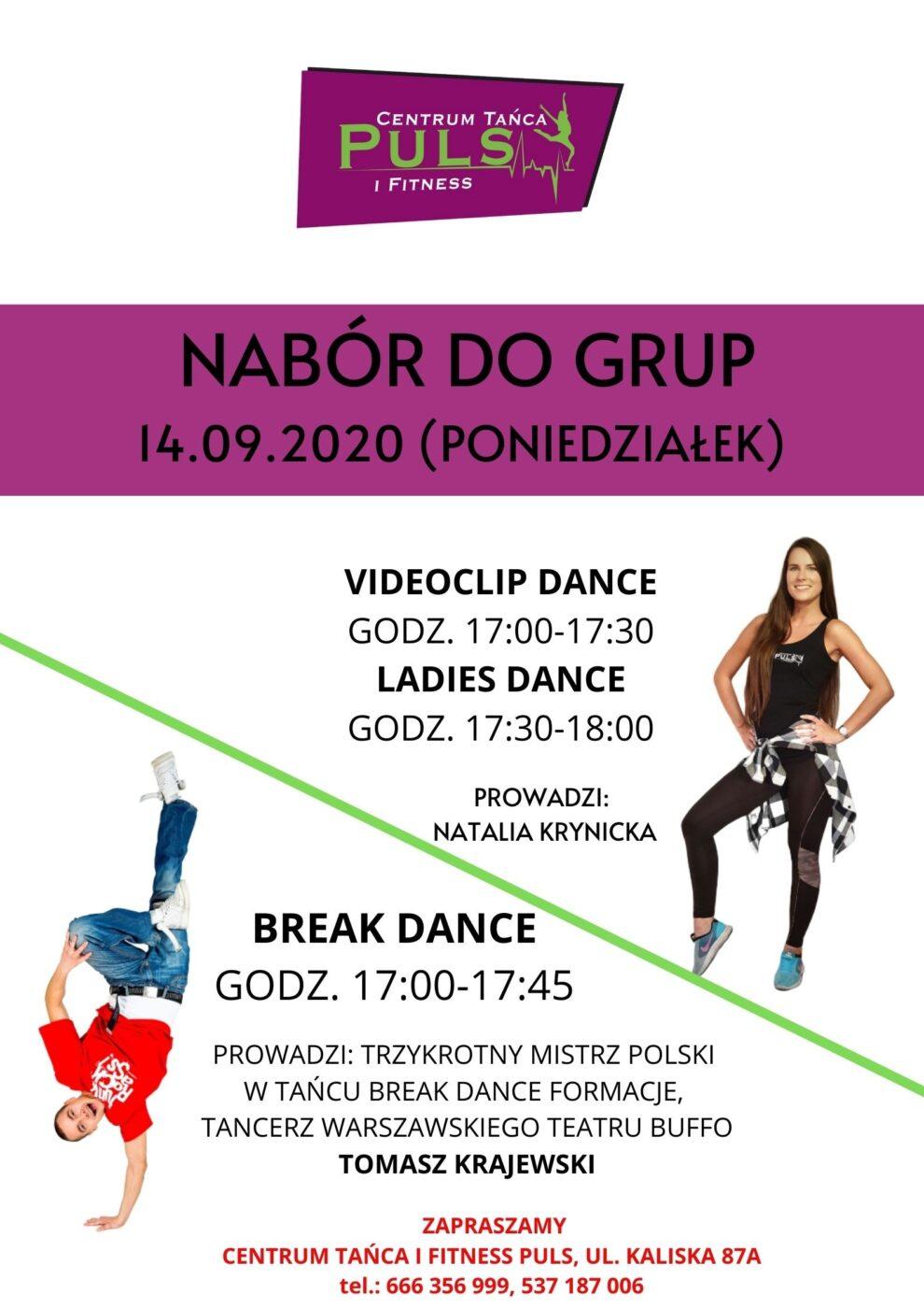 Dni Otwarte z Videoclip Dance, Ladies Dance i Break Dance