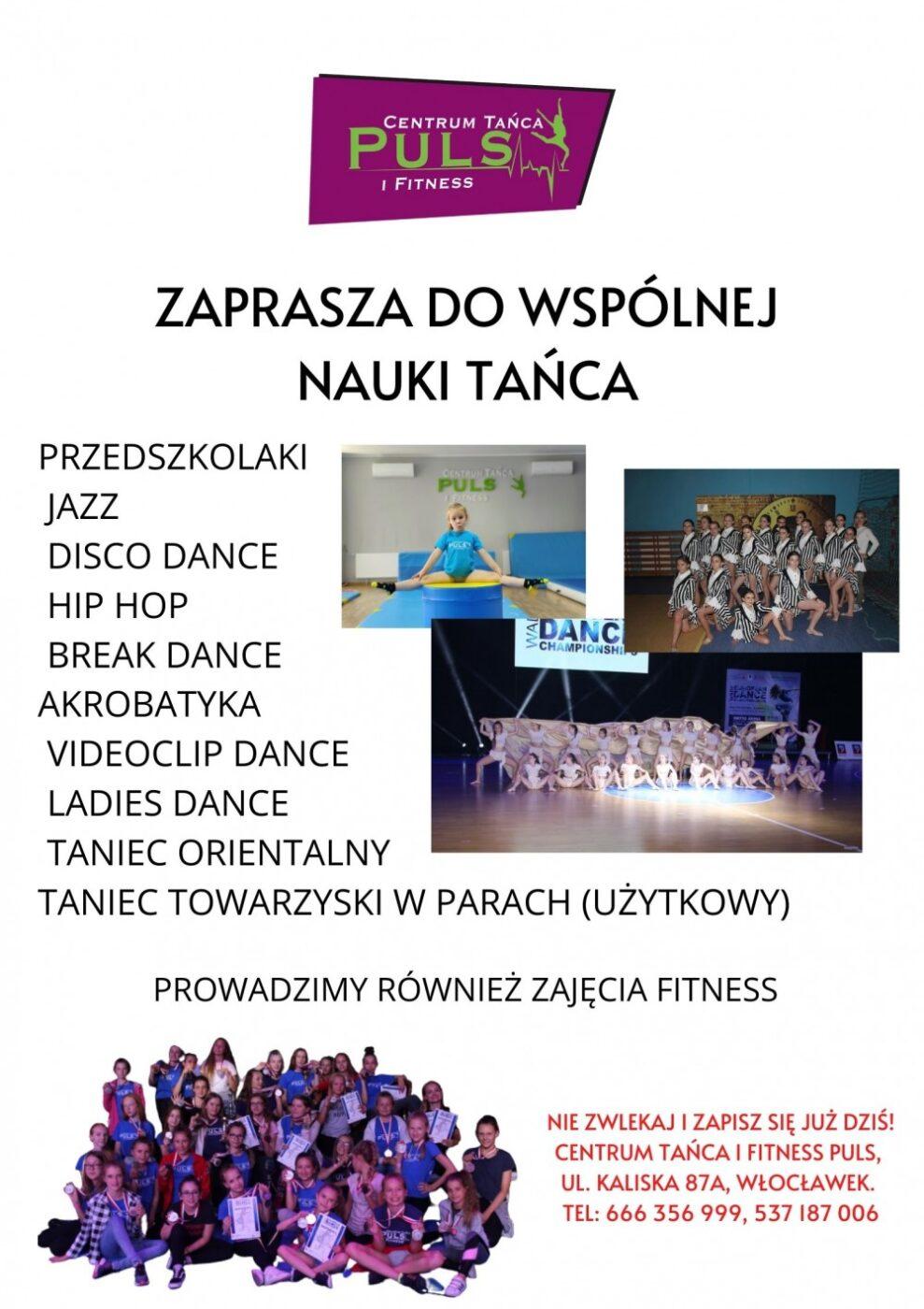 Zajęcia taneczne sezon 2020-2021