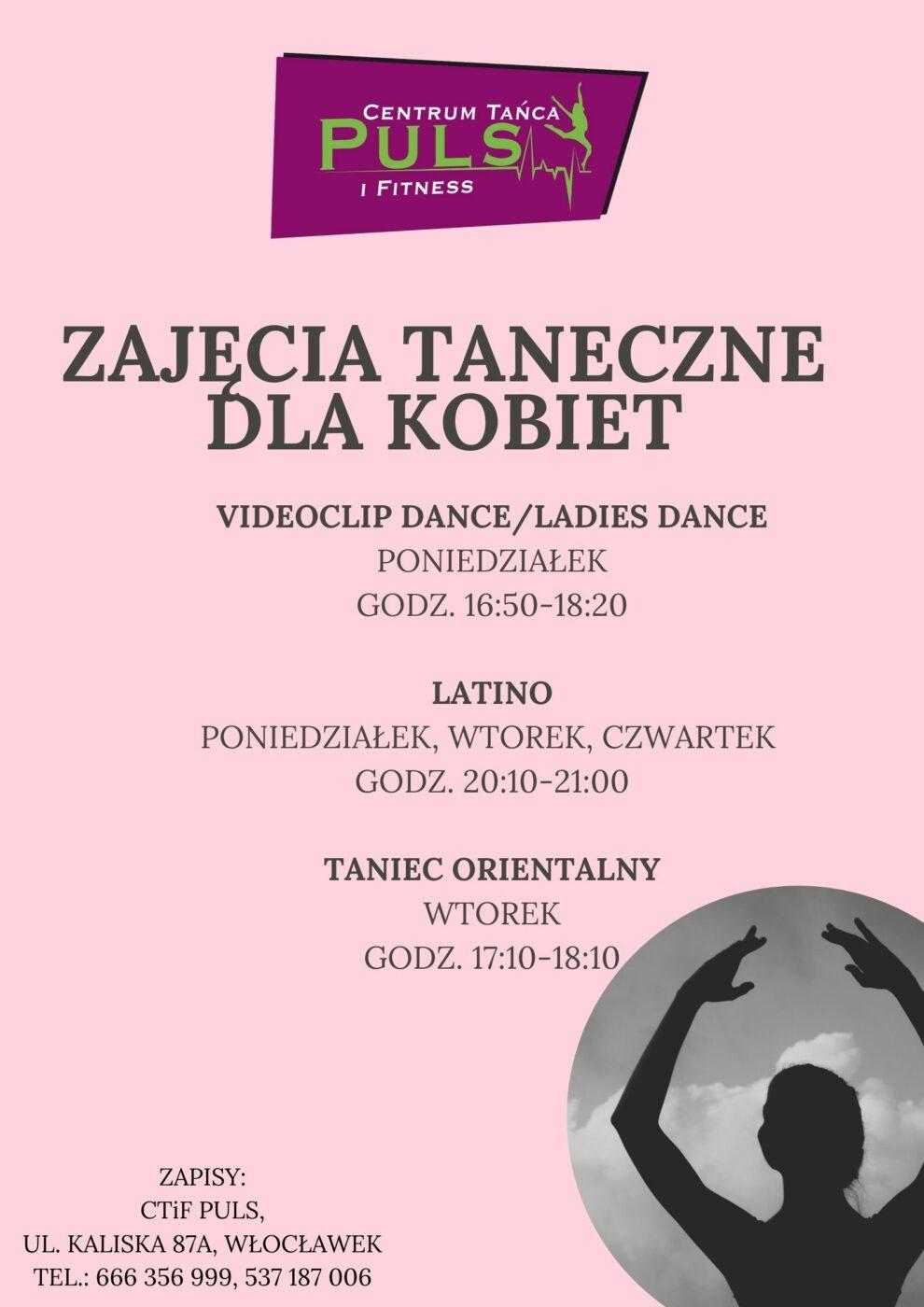 Nowe zajęcia taneczne dla kobiet!