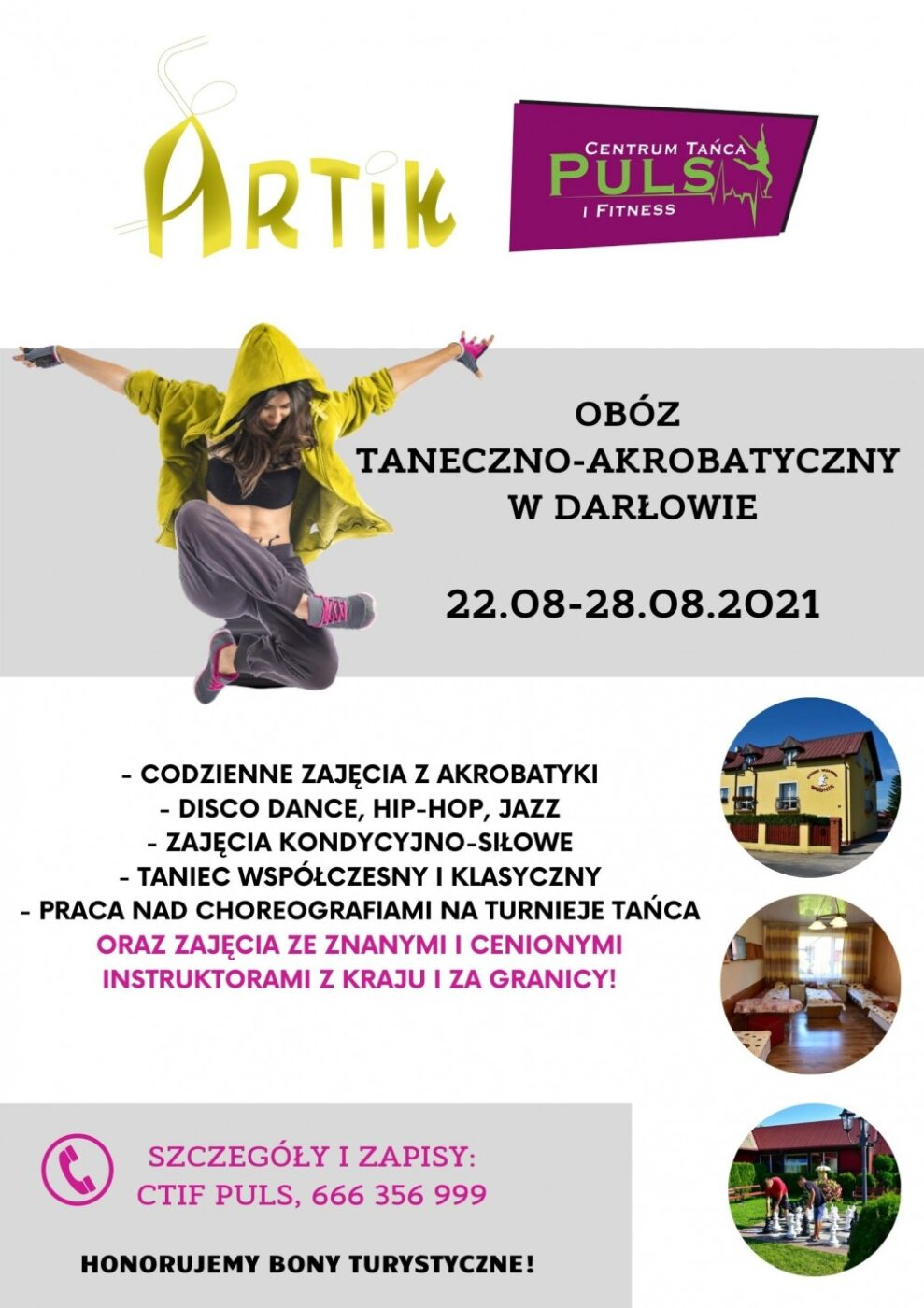 Letni obóz akrobatyczno-taneczny